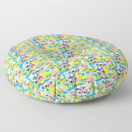 ABSTRACT IN MY HEART 2 Floor Pillow