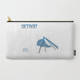 Cities Of America: Detroit Carry-All Pouch