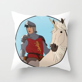 High King Throw Pillow