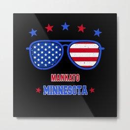 Mankato Minnesota Metal Print