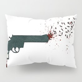 your life or your freedom (part 1 of the 'gun' series) Pillow Sham