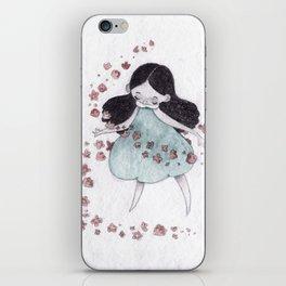 Flower hurricane iPhone Skin