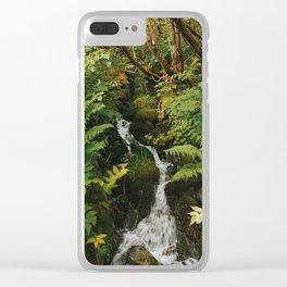 Rainforest brook Clear iPhone Case