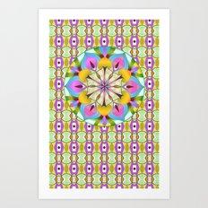Lucky Lotus Art Print