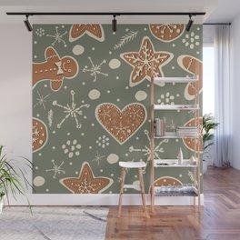 Gingerbread Wall Mural