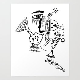 who knows Art Print