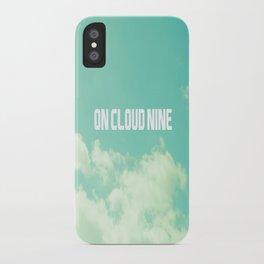 On Cloud Nine  iPhone Case