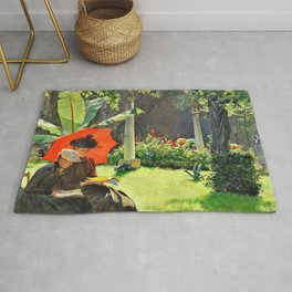 Afternoon In The Cluny Garden, Paris - Digital Remastered Edition Rug