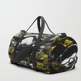 Gold and silver skulls Duffle Bag