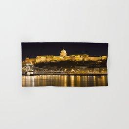 Budapest Chain Bridge And Castle Hand & Bath Towel