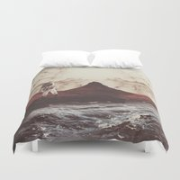 bruno mars Duvet Covers featuring TERRAFORMING MARS by fly fly away