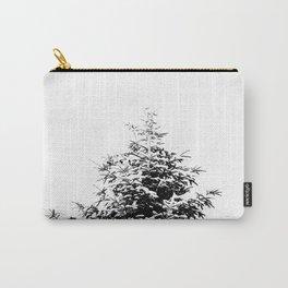 Minimal fir tree portrait Carry-All Pouch