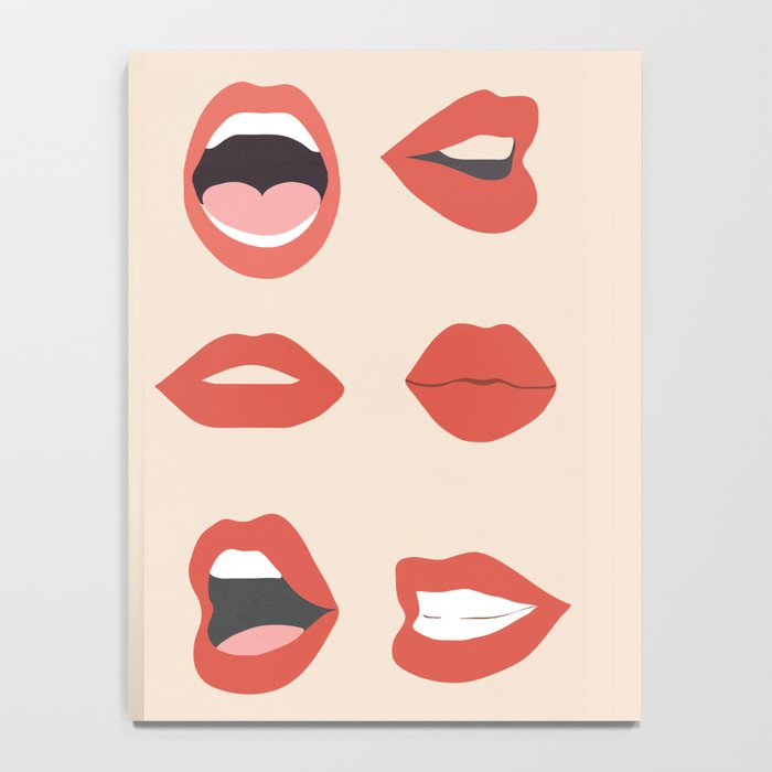 Lips III Notebook