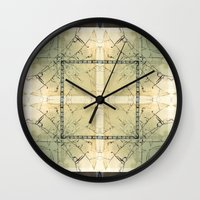 carnival Wall Clocks featuring Carnival by Lily Mandaliou