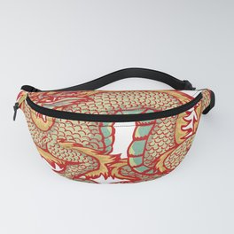 Old China Dragon Fanny Pack