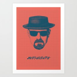 Heisenberg - Breaking Bad Poster Art Print