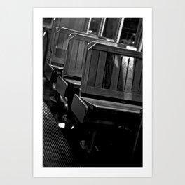Pick A Seat Art Print