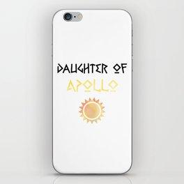 daughter of apollo iPhone Skin