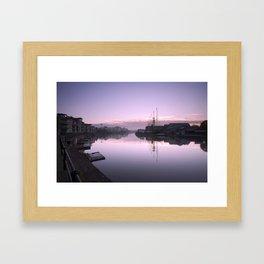 Bristol City Docks Framed Art Print