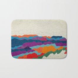 Landscape on Mars Bath Mat