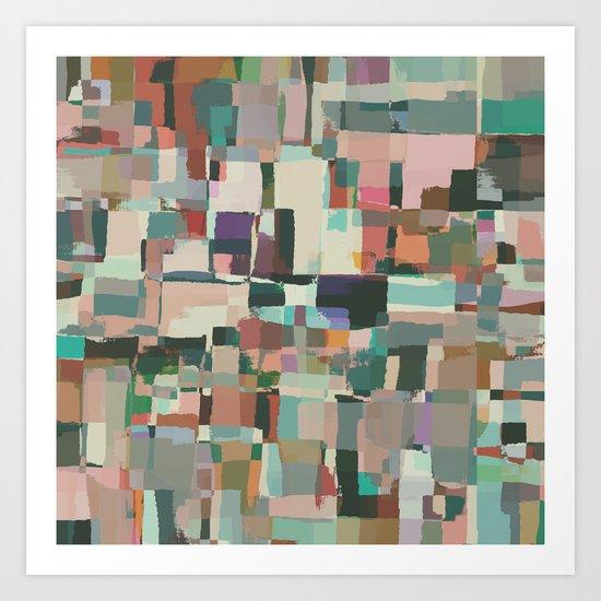 Abstract Painting No. 8 Art Print