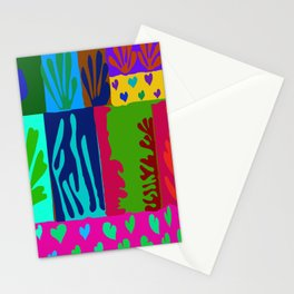 Matisse Collage Stationery Cards