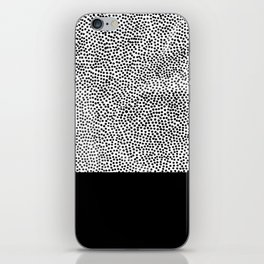 Dots and Black iPhone Skin