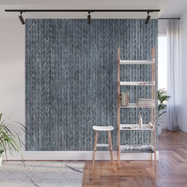 Ink Weaves: Sapphire (I) Wall Mural