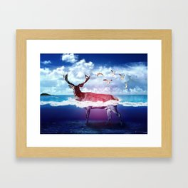 Dear U Framed Art Print