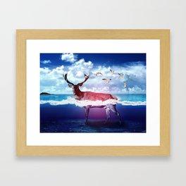 Dear U Framed Art Print