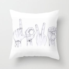 Love Wins. Always. (Larry Stylinson) Throw Pillow