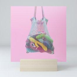 Sex toy bag Mini Art Print
