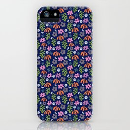 Birds In The Garden  iPhone Case