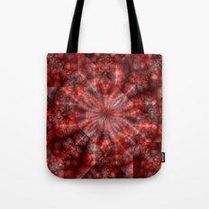 Fractal Imagination I - Ruby Tote Bag