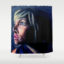 Looking to the Light Shower Curtain