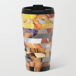 Glitch Pin-Up Redux: Isabella Metal Travel Mug