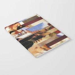 Glitch Pin-Up Redux: Daisy Notebook