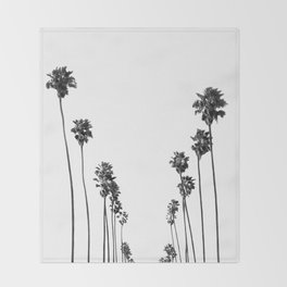 Palm Trees 8 Throw Blanket