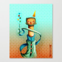 Juggler Canvas Print