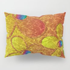 Big Yellow Rainbow Pillow Sham