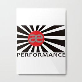 ae performance Metal Print