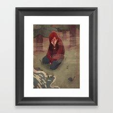 Bad Dreams Framed Art Print