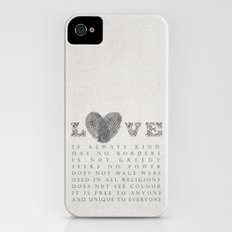 Love Slim Case iPhone (4, 4s)