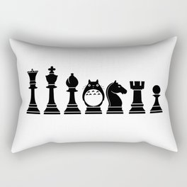 Chess Anime Character Rectangular Pillow