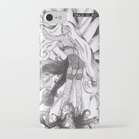 jasmine iPhone & iPod Cases featuring Jasmine by DESINK