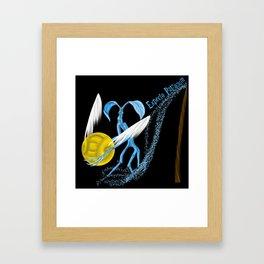 Expecto Patronum Bowtruckle Framed Art Print