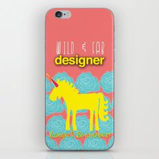 Design and Be Awesome! iPhone & iPod Skin