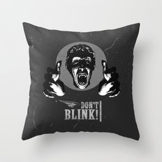 Doctor Who: Weeping Angel Throw Pillow