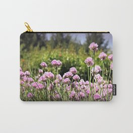 Chives & Bokeh Carry-All Pouch