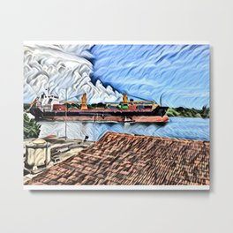 The Cienfuegos Bay de Cuba Metal Print